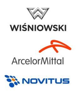 Realizacje - Wiśniowski, ArclerMittal, Novitus